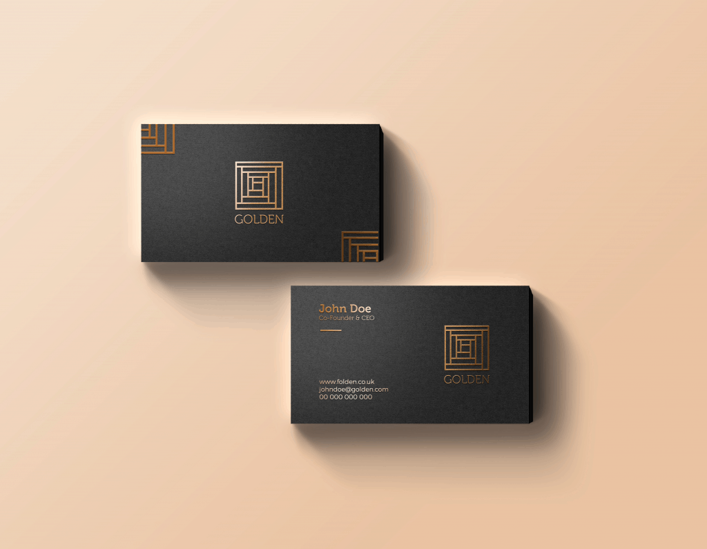 Hot Foil Business Card