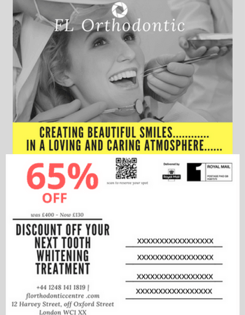 Postcard Marketing for Orthodontic Centre