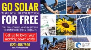 Solar Energy Company Marketing