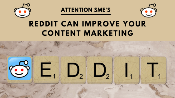 reddit can improve your content marketing