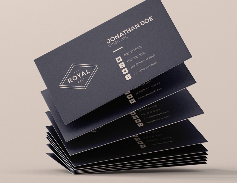 Duplex Business Card